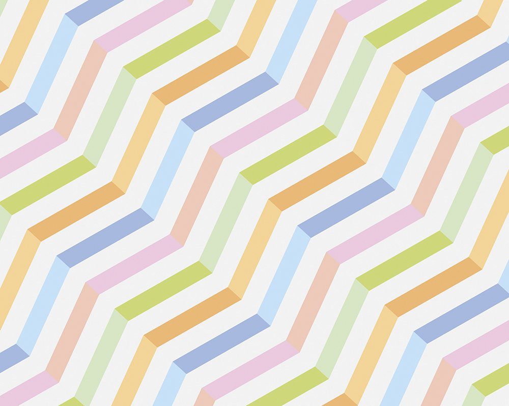 Candy stripes wall mural wallpaper mural ohpopsi for Candy wall mural
