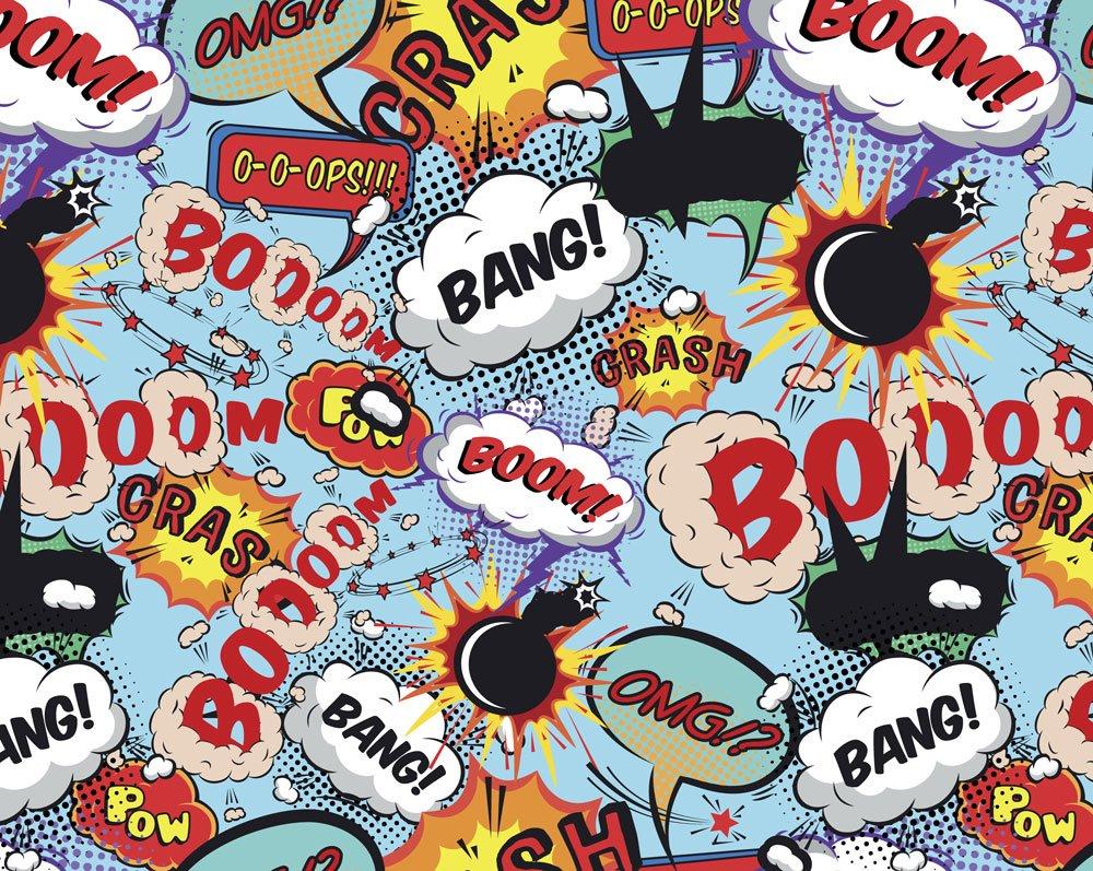 Comic Pop Art Wall Mural Wallpaper Mural Ohpopsi