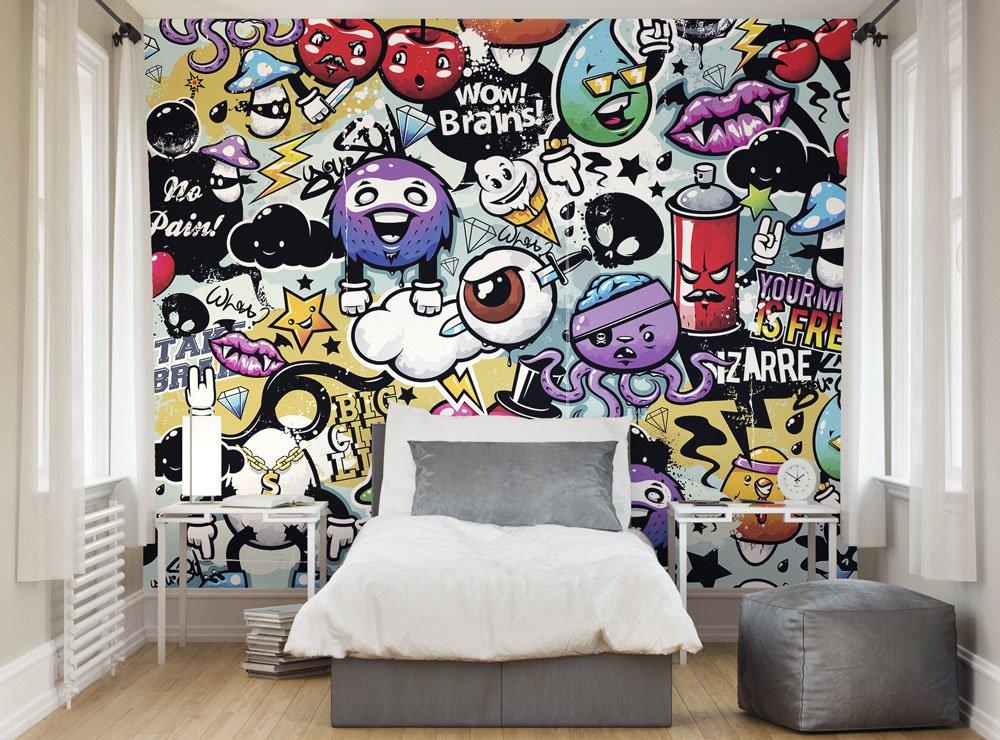 Graffiti Monster Wall Mural Wallpaper Mural