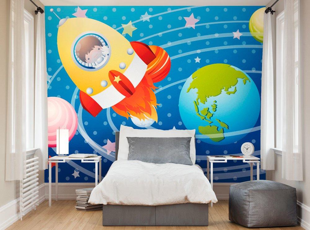 Astronaut wallpaper mural ohpopsi for Astronaut wall mural