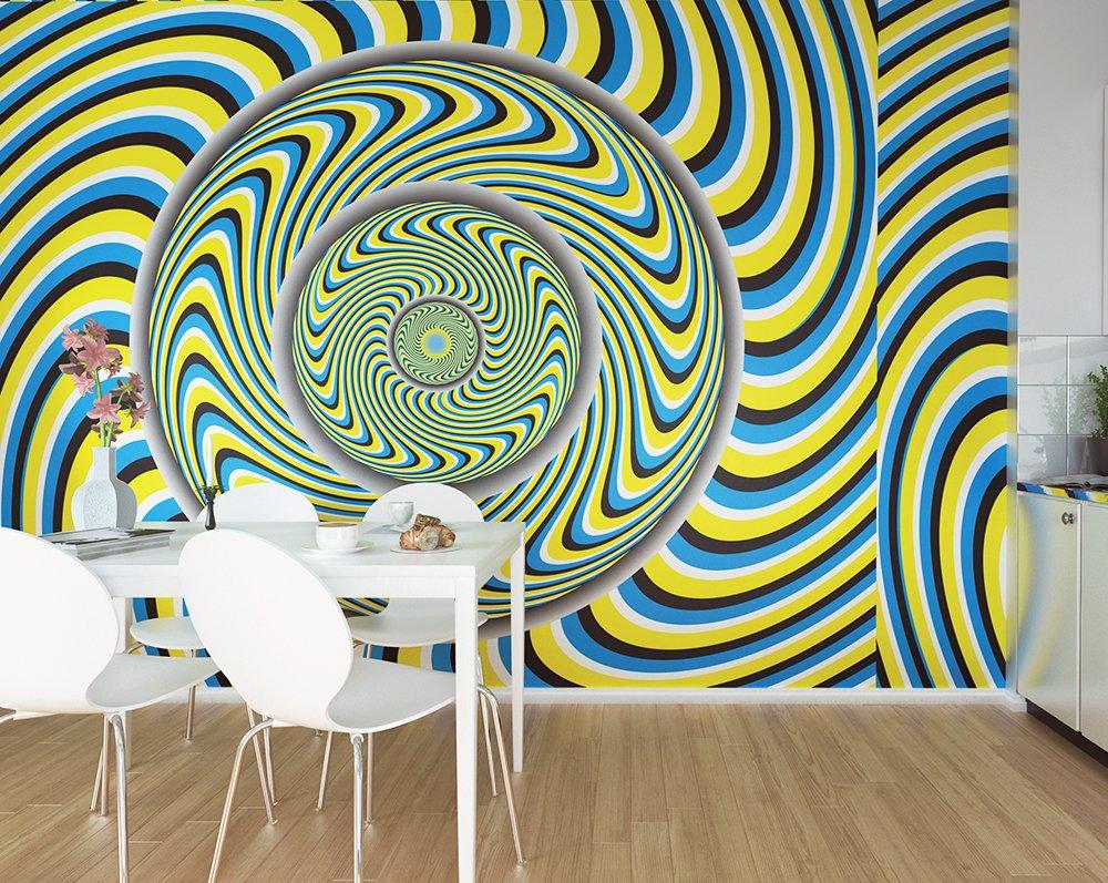 Fuzzy Wallpaper Mural Ohpopsi