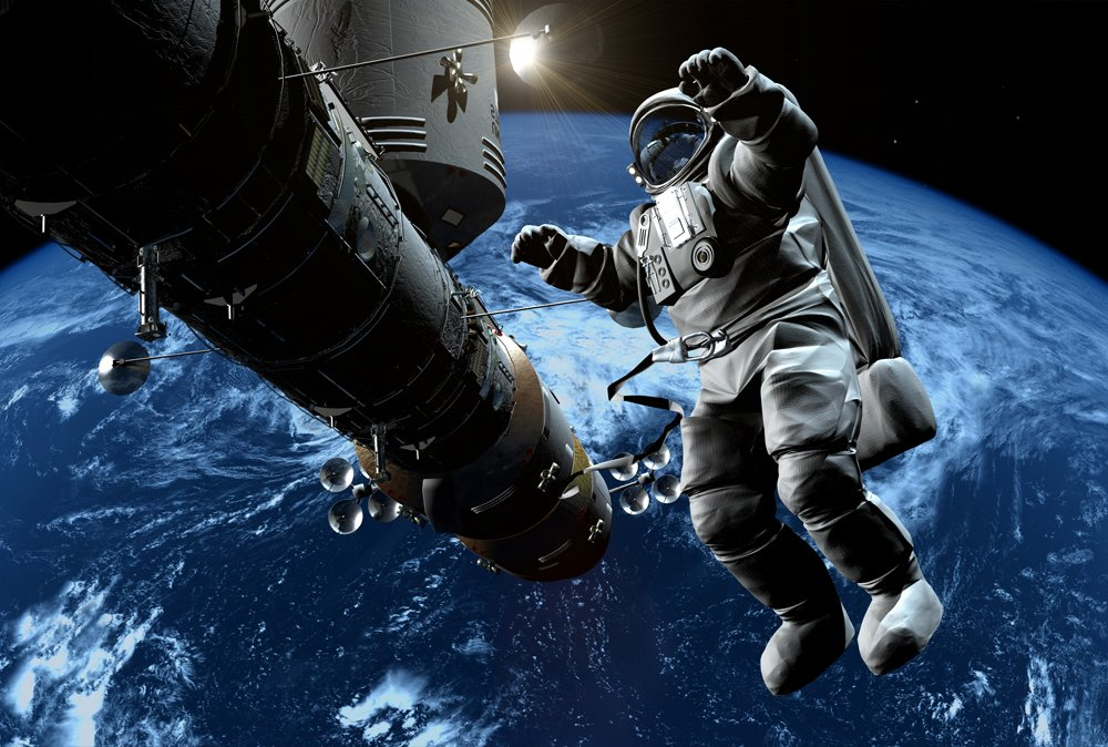 astronaut mural - photo #14
